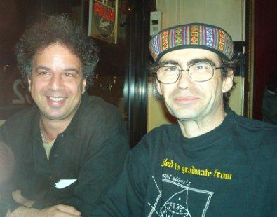 Michel Banabila and L.P.